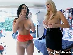 Jayden james and blonde behind the scenes tube porn video