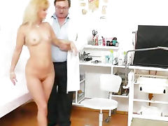 Mama gets a great gyno checkup tube porn video