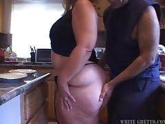 Hot and Horny Blonde BBW Gets Analized by a Big Black Cock tube porn video