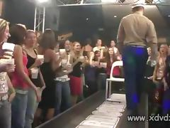 Naughty Girls Have Fun At Hardcore Party With Male Gigolos