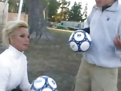 TJ Hart is One Hot Soccer Mom