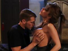Hot cougar Alexa Nicole sucks and rides Chris Johnson's dick tube porn video