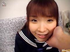 Cutest Japanese Girl Sucking Dick