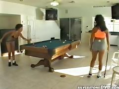 Peter North Fucks Lana Sands and Marine Cartier on Pool Table tube porn video