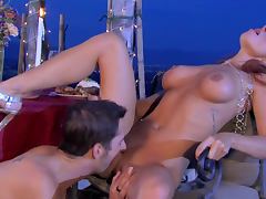 Hot beauty Kirsten Price is fucking in her pussy tube porn video