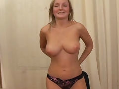 Casting, Audition, Babe, Big Tits, Blonde, Boobs