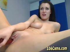 Sexy Girl Play With Pussy And Ass Dildo Webcam