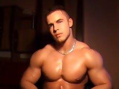 muscle man webcam tube porn video