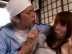 Red Haired Asian Housewife Gets Dominated By Her Mean Hubby