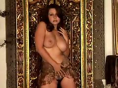 A Stunning Solo Scene With The Busty Brunette Erica Campbell porn tube video