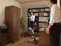 Pretty Mature Secretary Gets Some Cock Action