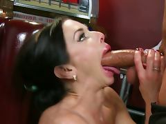 Veronica avluv gets her body oiled and banged tube porn video