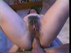 Hot Hairy Anal porn tube video
