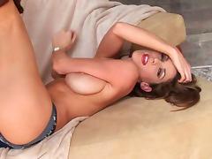 Hardcore straight babe Kayla Paige poses
