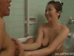 Aoi Aoyama giving one of the best blowjobs