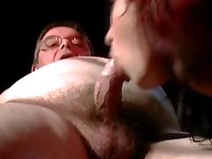 Old Man, Blowjob, Couple, Old, Old Man, Redhead
