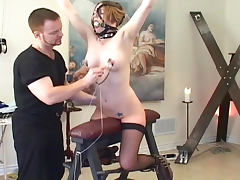Hardcore drilling for filthy blonde