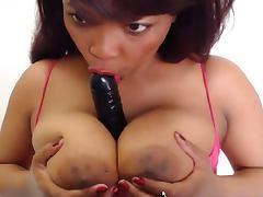 Ebony boobs webcam Nawty 3 videos