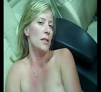 Older SLUT is Talking Dirty in Car porn tube video