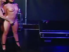 Nina Hartley fucks her sexy slave girl