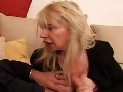 FRENCH MATURE n40 blonde ugly moms vieille salope tube porn video