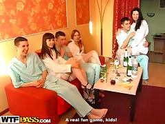 Awesome Action at Medical School Party with MMF Anal Threesome