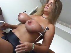 Extreme Dildo Lesbians tube porn video