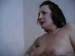 Incredibly Sexy Old Woman With Quality By A Pussy And Ass mature mature porn granny old cumshots cum