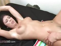 Young students sexing on college party