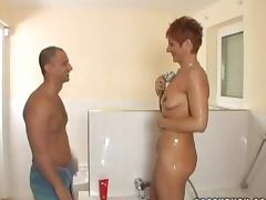 Shower, Babe, Couple, Lick, Reality, Shower