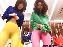Asian dolls pissing