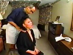 SDRUWS2 Asian mature hotel employee anal and facial