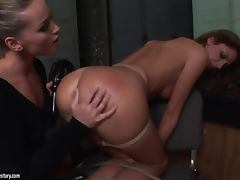 Sexy Bambi wants to be punished by hot Kathia Nobili