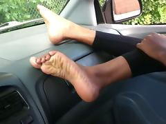 Indian foot fetish Sexy feet soles and toes rubbing my cock