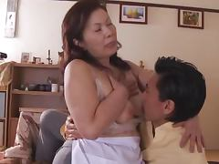 Chizuru Iwasaki gets her pink slit fingered and fucked every which way