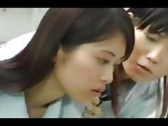 Jap Schoolgirl Lesbian Orgy tube porn video