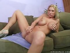 Busty Devon Lee rides big hard cock and gets a facial