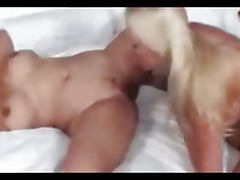 Horny Lesbians Rubbing Their Pussies Together
