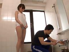 Bath, Asian, Bath, Bathroom, Blowjob, Couple