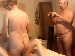 Threesome with some friends tube porn video
