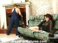 Lillian and Adrian raunchy mature