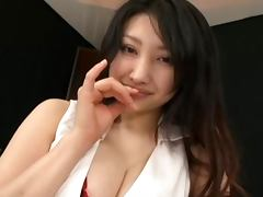 Hot Busty Asian Girl In Stockings Gives A Great POV Handjob porn tube video