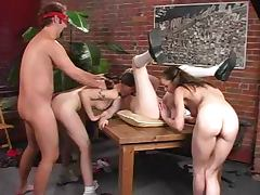 Detention With Headmaster starring Violet and Headmaster