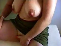 Granny masturbates big clit porn tube video