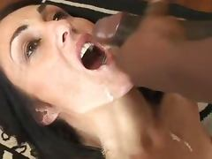 Mature bukkake porn tube video