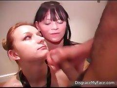 Dirty blonde jizzed bitch jerking part3 tube porn video
