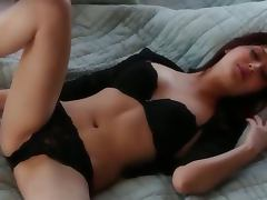 ultra hot blackhair and solo action