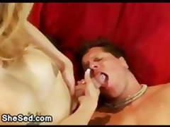 Big cock tranny fucks muscled tied guy