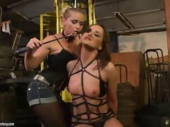 Andy Brown and Kathia Nobili in great BDSm video