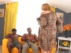 Grandma Endures A Gangbang tube porn video